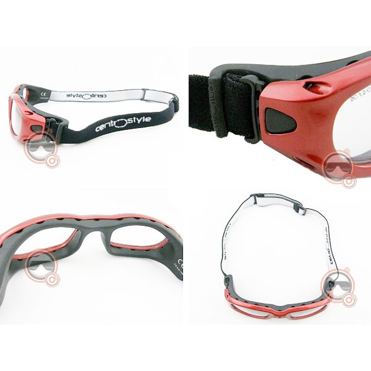 Óculos p  Esportes Centro Style Vermelho (adulto) TM51 - SURF - COM ... 6bc5bb6215