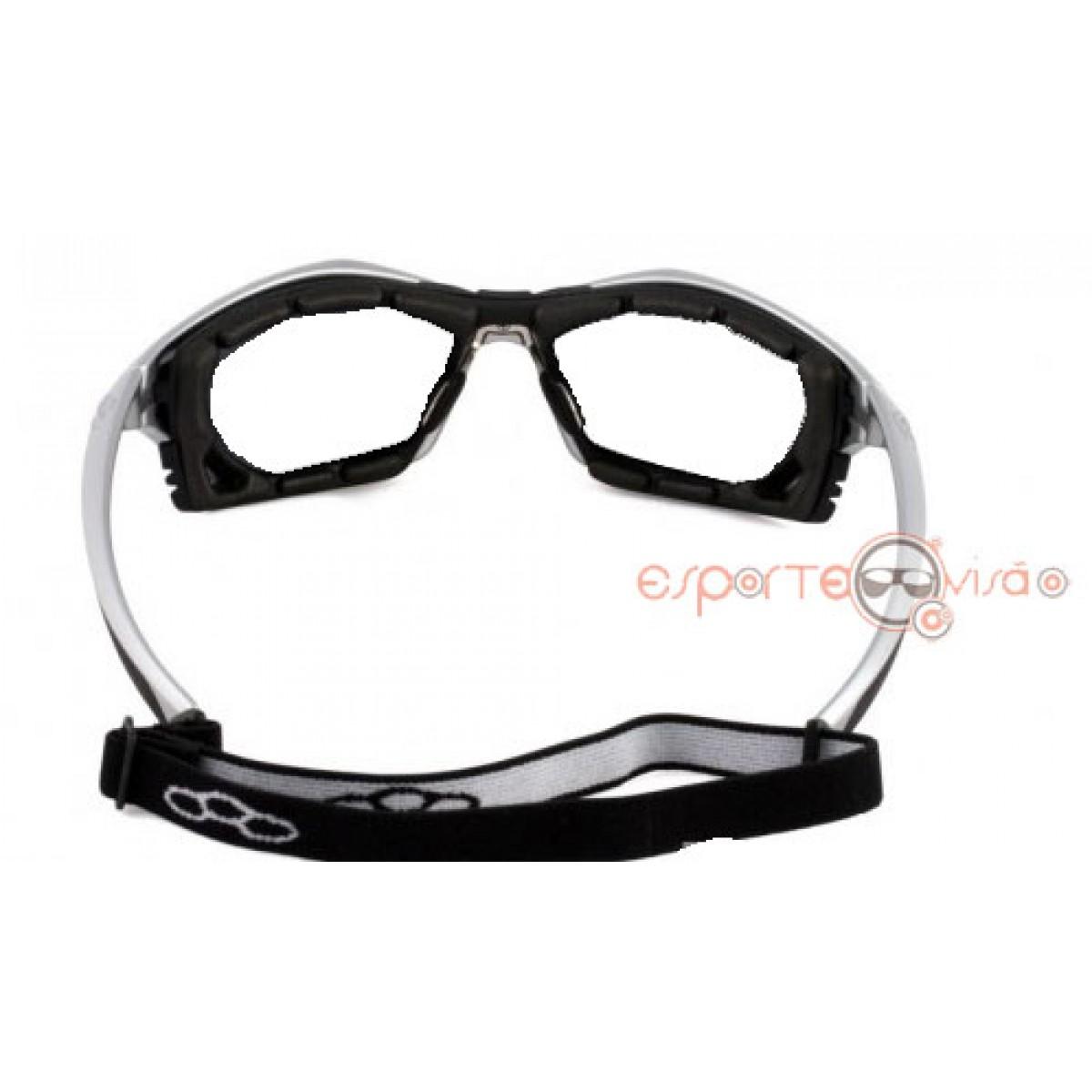 dfb2f33c1423a Óculos para Esportes Olympikus c  Lentes Policarbonato Incolor (c  ou s   grau