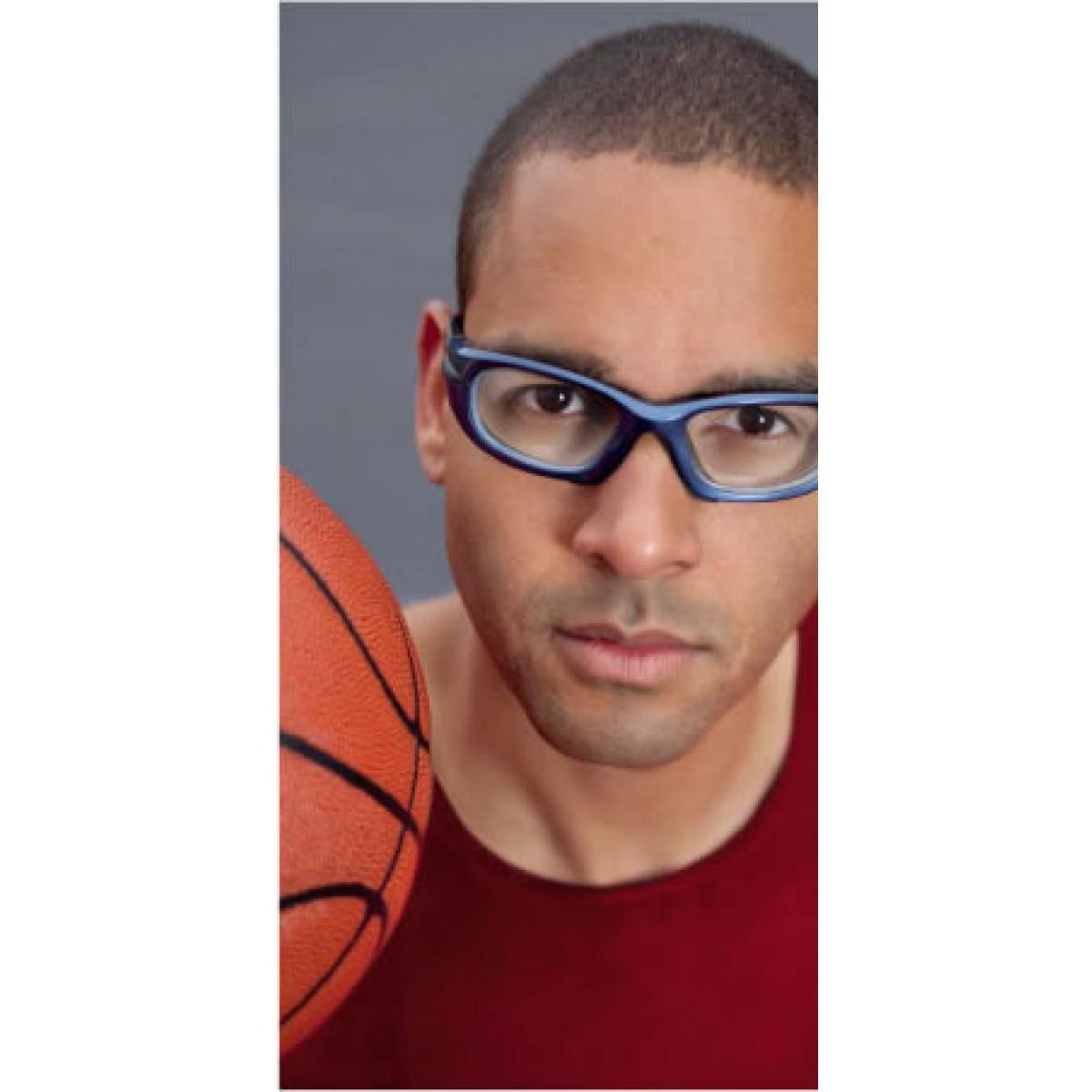 ff21427be Óculos Progear Adulto Azul TM55 c/ Grau e Lentes Anti-Embaçantes