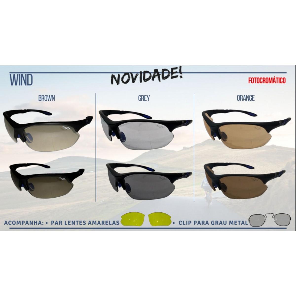 óculos esporte com Clip para Grau - Esporte Visão 94da0063bd
