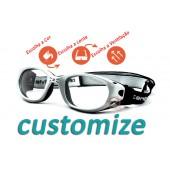 Kit Customização Centro Style Óculos Para Esportes