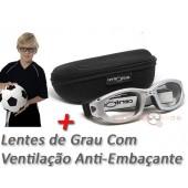 Óculos Centro Style Infantil com Grau e Sistema de Ventilação Anti-Embaçante