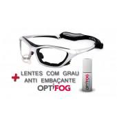 oculos para esportes com lentes anti embaçante