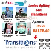 Lentes Anti Embaçante Transitions