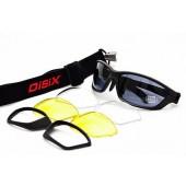Óculos Disix Player C01 c/ 3 lentes e clip redutor de curva para Grau.