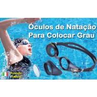óculos de natação para grau