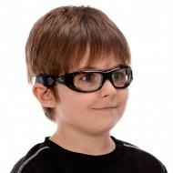 Óculos para Esportes Infantil Titans Atlas com Lentes de Grau + Flanela de efeito antiembaçante Antifog